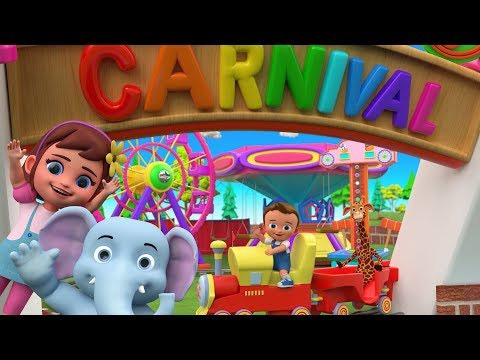Little Babies and Animals Funny Carnival Playtime   Videos for Kids Children Babies