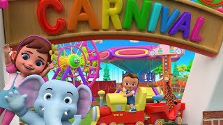 Little Babies and Animals Funny Carnival Playtime | Videos for Kids Children Babies