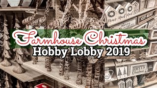 I WANTED TO BUY EVERYTHING!!! 🌲🌲// HOBBY LOBBY CHRISTMAS 2019 SHOP WITH ME