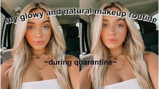 my everyday makeup routine (if I wasn't in quarantine)