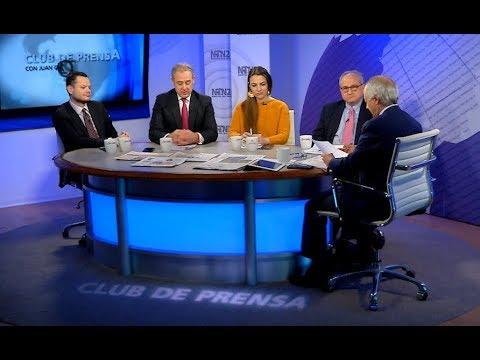 Programa completo Club de Prensa miércoles -- 14/03/2018
