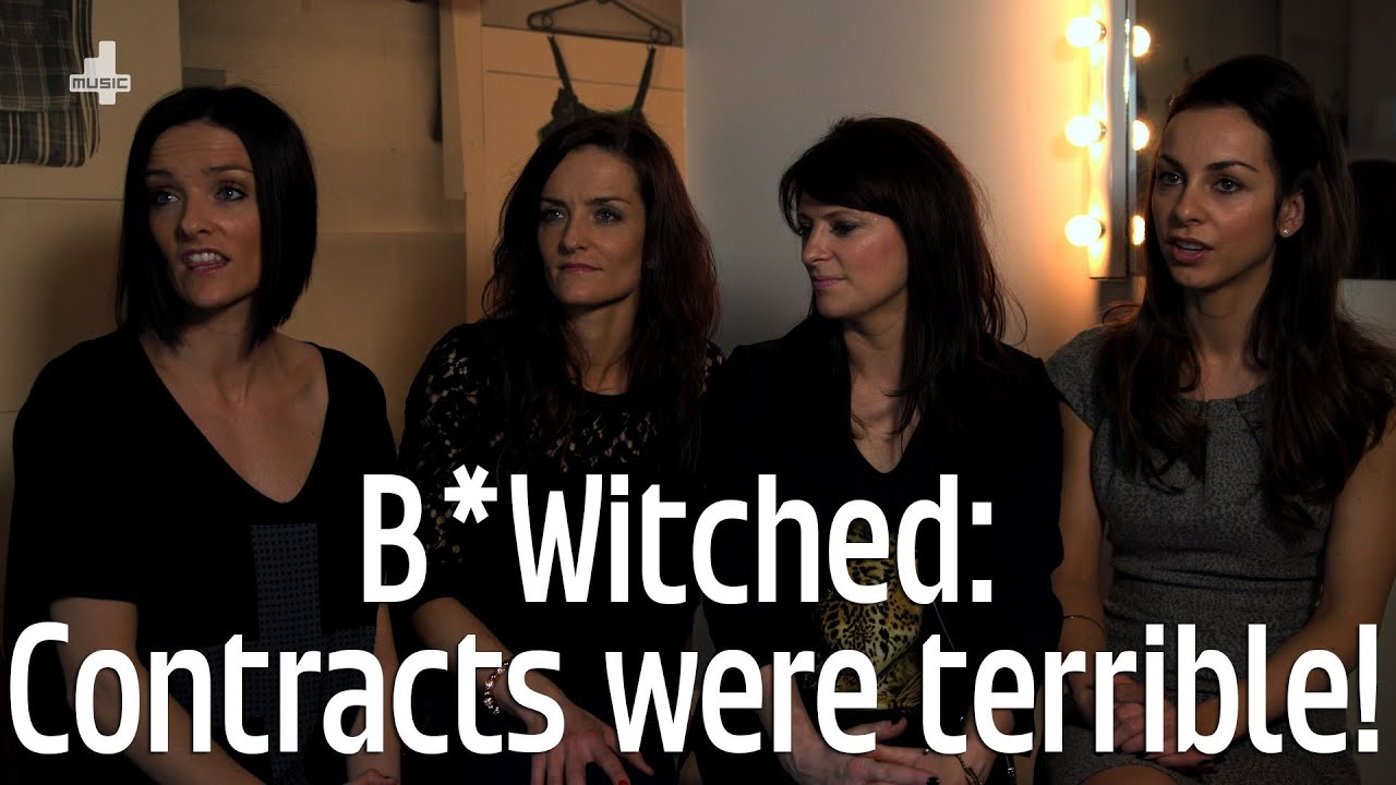 B witched our record contracts were terrible youtube for B b contract