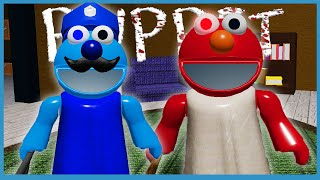 ELMO WAS INFECTED! - Roblox Puppet All Chapters