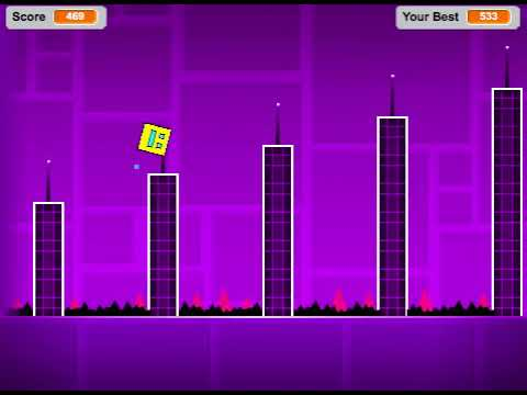 Geometry Dash By Griffpatch [Scratch]