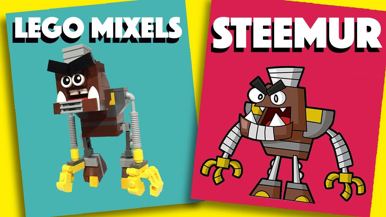 how to build lego mixels