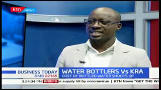 KRA implements new tax measures to water bottles and beverages