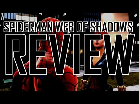 Spiderman Web of Shadows review