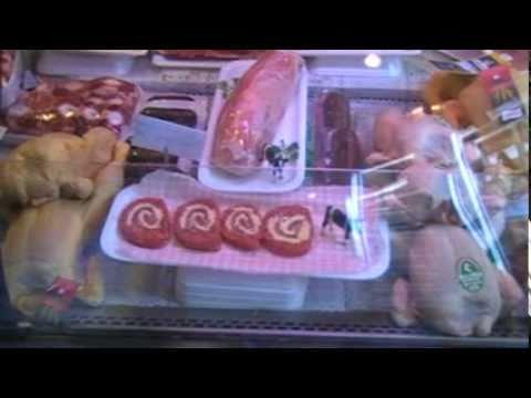 Como Decorar Una Carniceria En Navidad.El Taller Un Paseo Por El Mostrador De La Carniceria Mp4