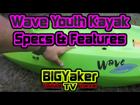 Wave Youth Kayak   Specs And Features