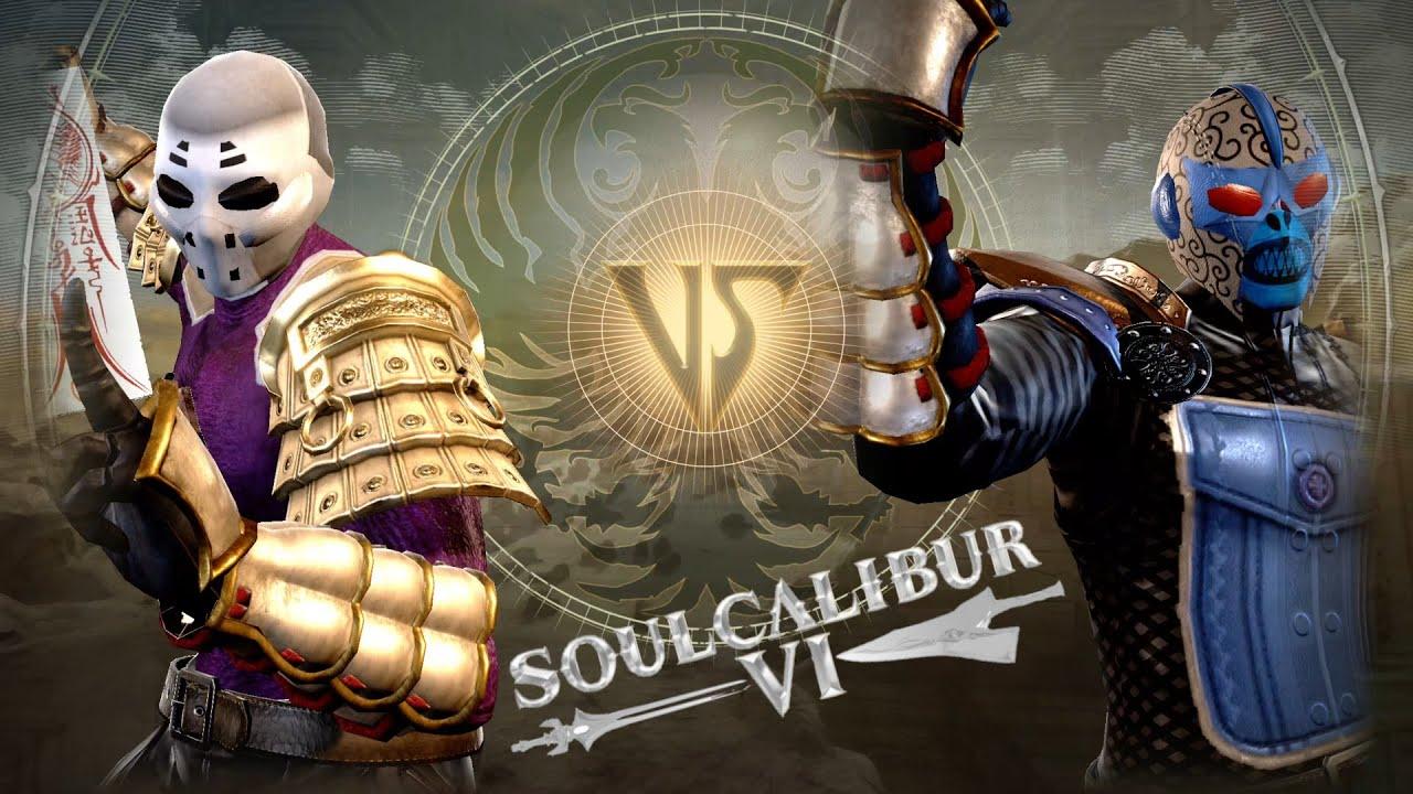 SOULCALIBUR 6 CREATIONS : KAOS VS RANGE VIPER