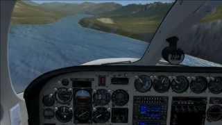Landing at Karluk Cessna 340 FSX