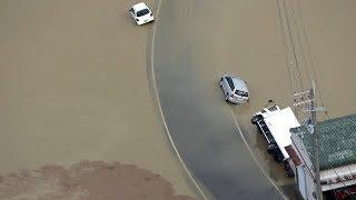 台風21号で大きな被害が出た和歌山市