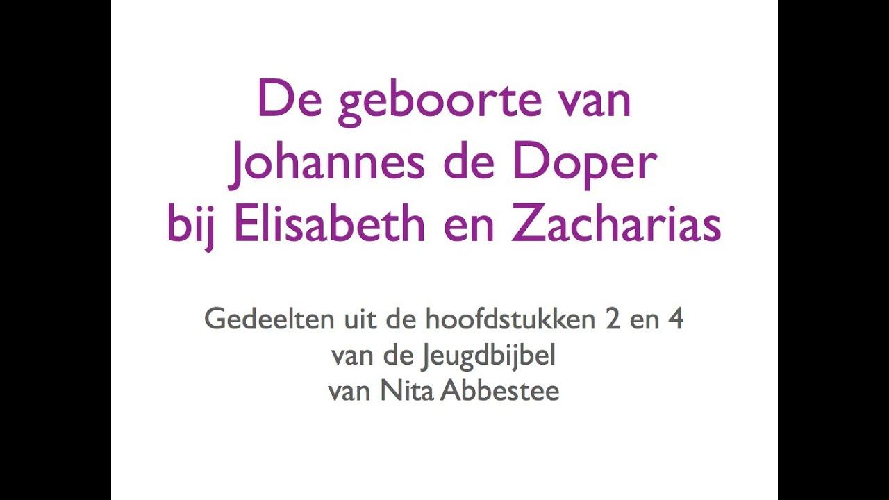 Geboorte Van Johannes De Doper Bij Elisabeth En Zacharias