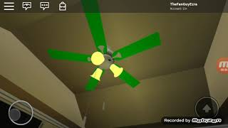 Ceiling Fans In My Roblox House #NCFD Special