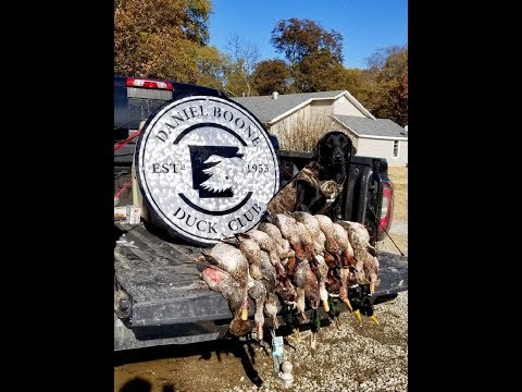 Duck Hunt With Daniel Boone Duck Club