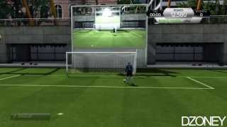 FIFA 14 - Just warming up (Silver Dribbling Skill Challenge) dzoney