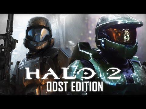 Halo 2 Anniversary (ODST Edition) Game Movie All Cutscenes 1080p HD