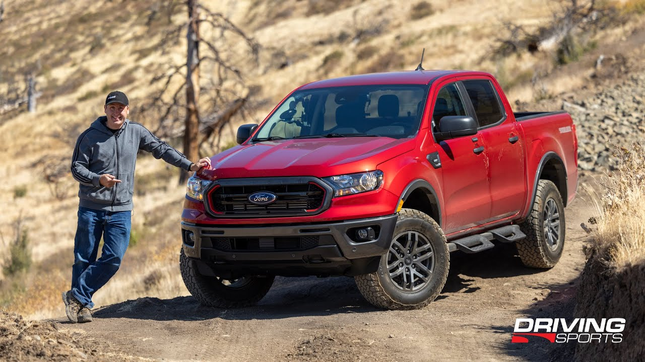 2021 Ford Ranger Tremor 4x4 Review and Off-Road Test
