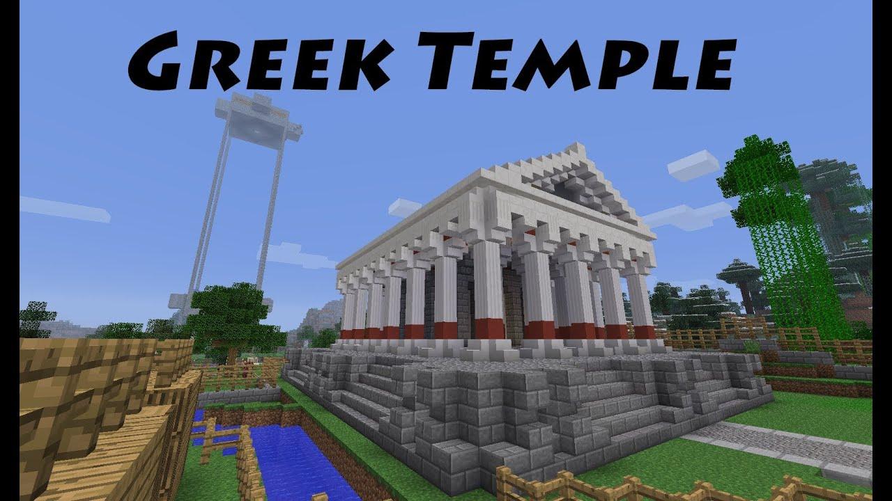Minecraft Schematic Building
