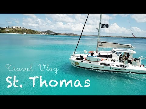 Sunken Boats, Beautiful Beaches, and Incredible Views in St Thomas