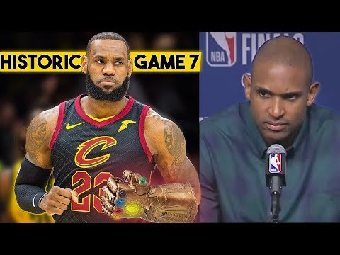 'LeBron Is Saving Himself For A HISTORIC G7 In Boston', Al Horford's Ready To Send The Cavs Home..