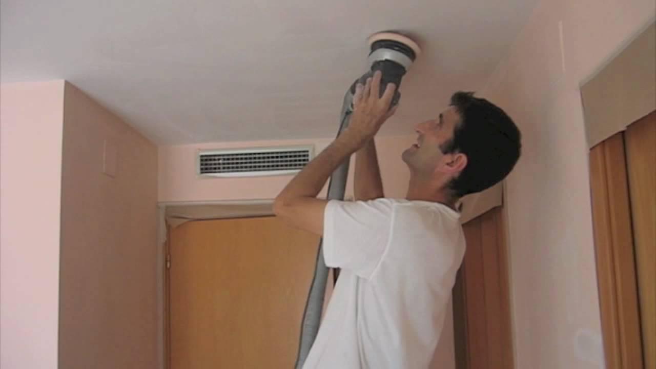 pinturas calvet ¿ restaura? masillado de techos y paredes - youtube