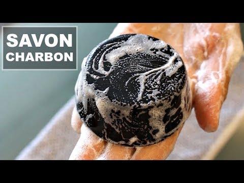 ♡DIY : savon anti acné au charbon♡