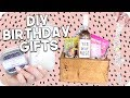 DIY Birthday Gifts 2018! Minimal + Easy!!