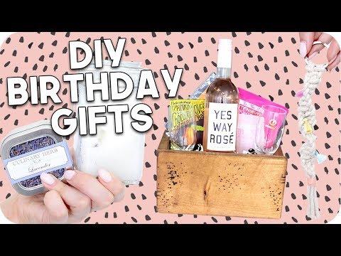 DIY Birthday Gifts 2018! Minimal + Easy!!