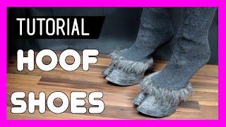 Worbla Hoof Shoes - Tutorial