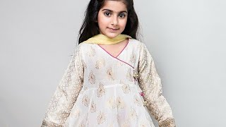 New and Latest Eid collection for little girls 2018
