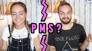 WAS DENKT ER, WENN ICH PMS HABE? 🙈 Wir beantworten eure Fragen GETRENNT voneinander 2/3