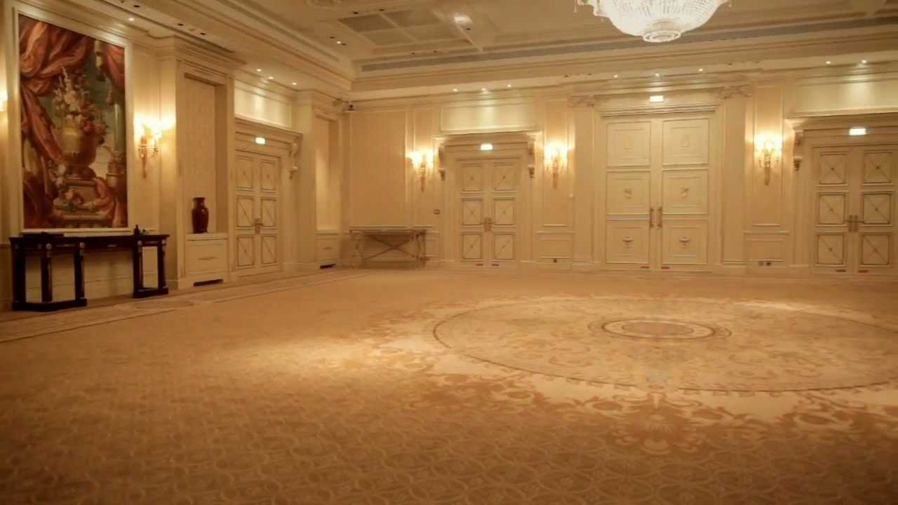 Le salon roland bonaparte shangri la hotel paris youtube for Hotel design paris spa