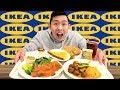 IKEA MUKBANG — LOTS OF FOOD | Swedish Meatballs, Smoked Salmon + MORE | Public Mukbang & Eating Show