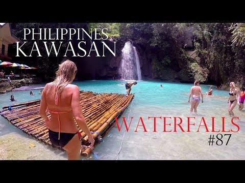 PARADISE ASIA - KAWASAN WATERFALLS PHILIPPINES - BACKPACKING CEBU ISLAND - Worldtravel Vlog / Diary