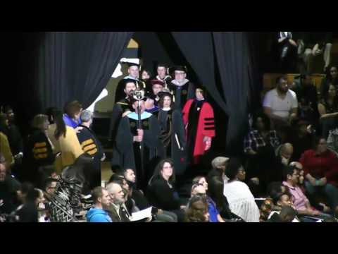 PNW Fall 2016 Commencement, Hammond Campus, December 10, 2016, Morning Ceremony