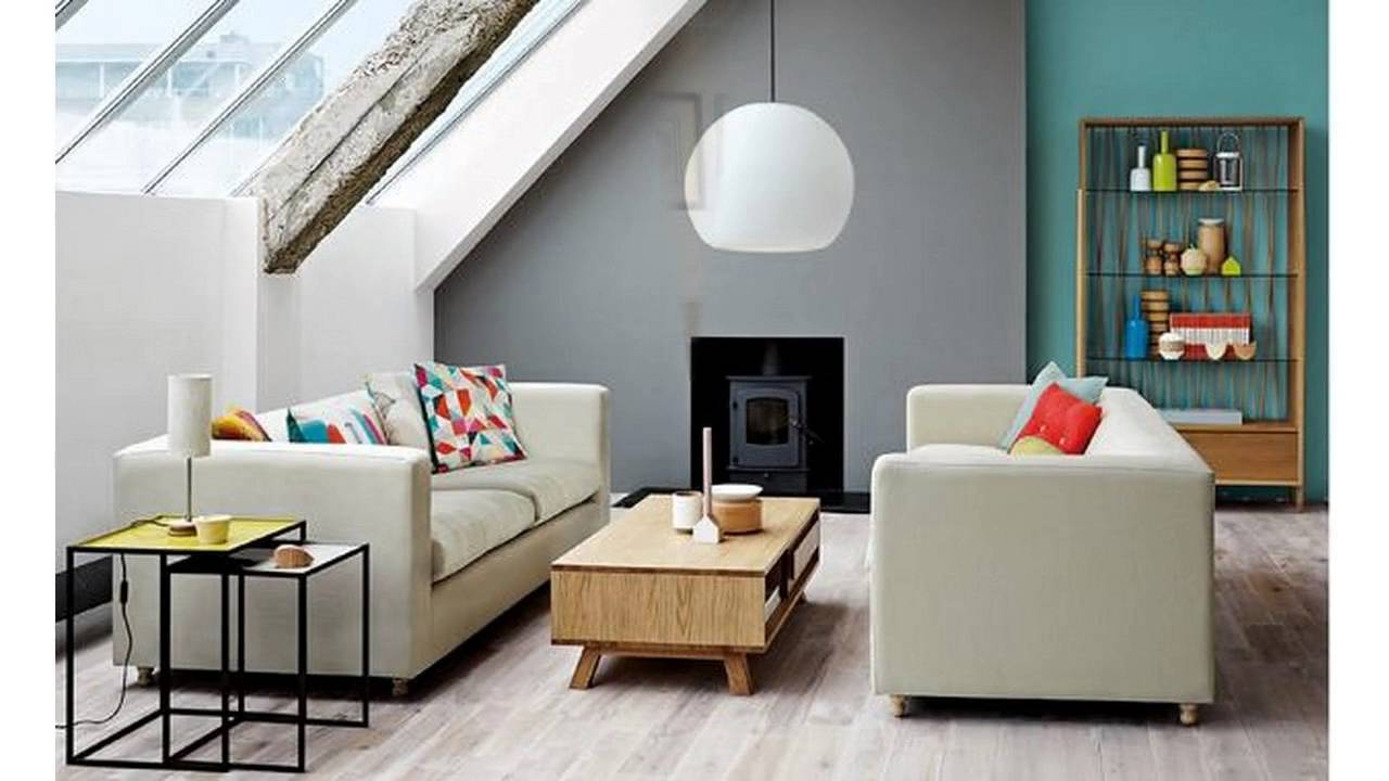 Living room colour schemes ideas - YouTube