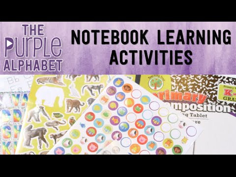 Notebooking Ideas with Stickers
