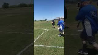Me doing mimi jav at Special Olympics Iowa Park Texas