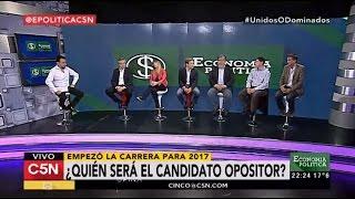 C5N - Economía Política: Programa 23/10/2016 (Parte 2) - ¿Quién será el candidato opositor?