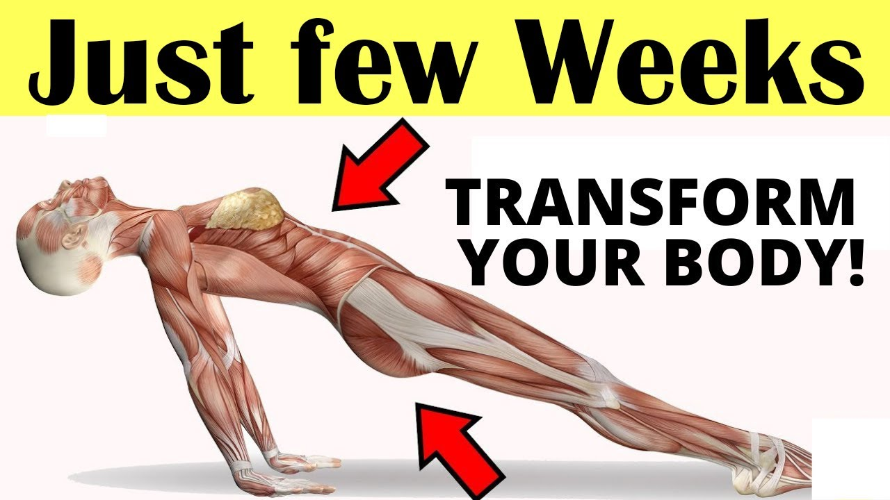 5 Exercises For Women That Will Transform Your Body In Just a Few Weeks