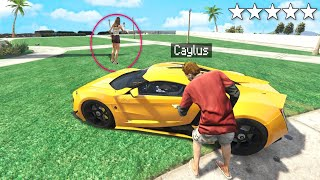Stealing My GIRLFRIENDS Supercar In GTA 5 RP (LIVE)