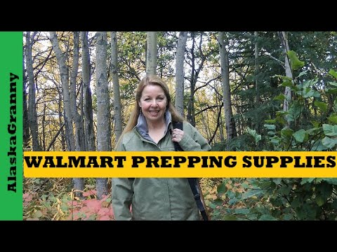 Prepping Supplies From Walmart Sporting Goods Hunting