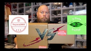 EPIC DUEL Between a $60 ToyUSA Funko Pop Mystery Box and a $50 2 Peas in a Pop Funko Pop Mystery Box