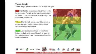 Rugby Ontario Age Grade Law Variations