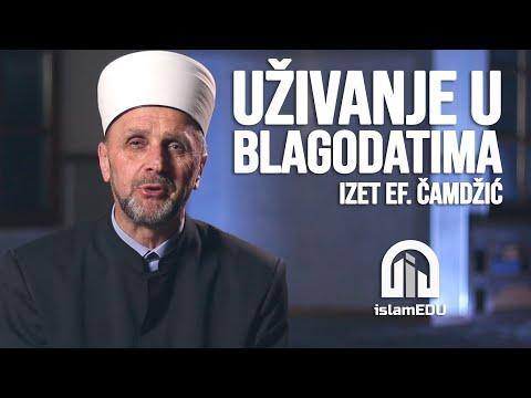 IZET EF. ČAMDŽIĆ: UŽIVANJE U BLAGODATIMA @islamEDU