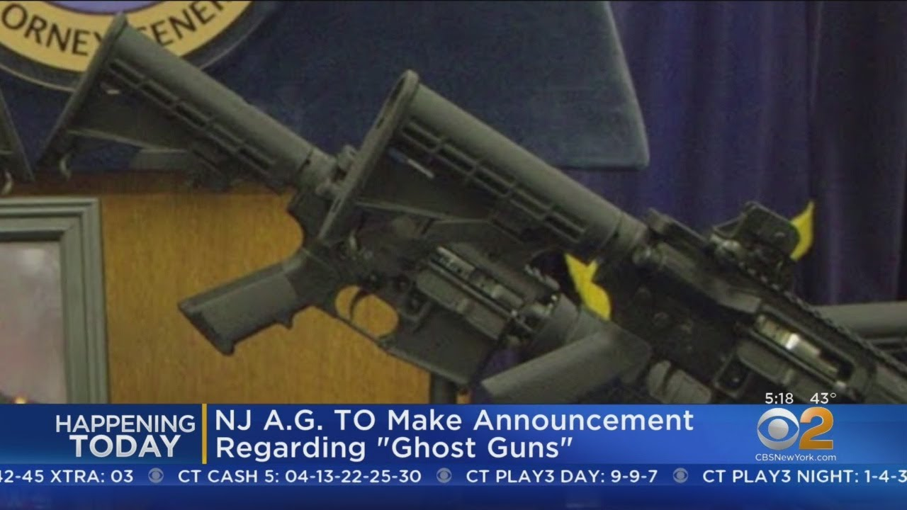 NJ AG To Make 'Ghost Gun' Announcement