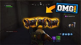 TILTED TOWERS SECRET CHEST SPAWNS - FORTNITE BATTLE ROYALE