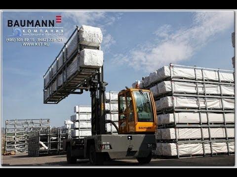 Погрузчик BAUMANN GX 70 - Погрузчик боковой 7 тонн - боковой автопогрузчик 7000 кг