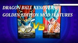 Dragon Ball Xenoverse Final Demigra Vs SSGSS Goku - Golden Edition Mod Trainer PC